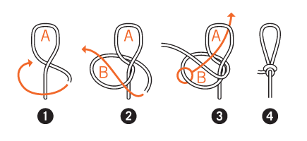 How To Tie A Fishermans Perfection Knot Leader Loop Hook Line Threader Inc